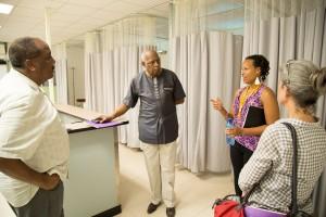 Haiti, hospital