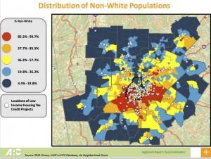 `Housing Forum, low income in minority neighborhoods