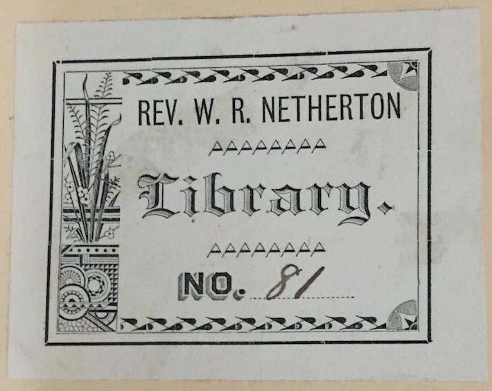 Netherton plate